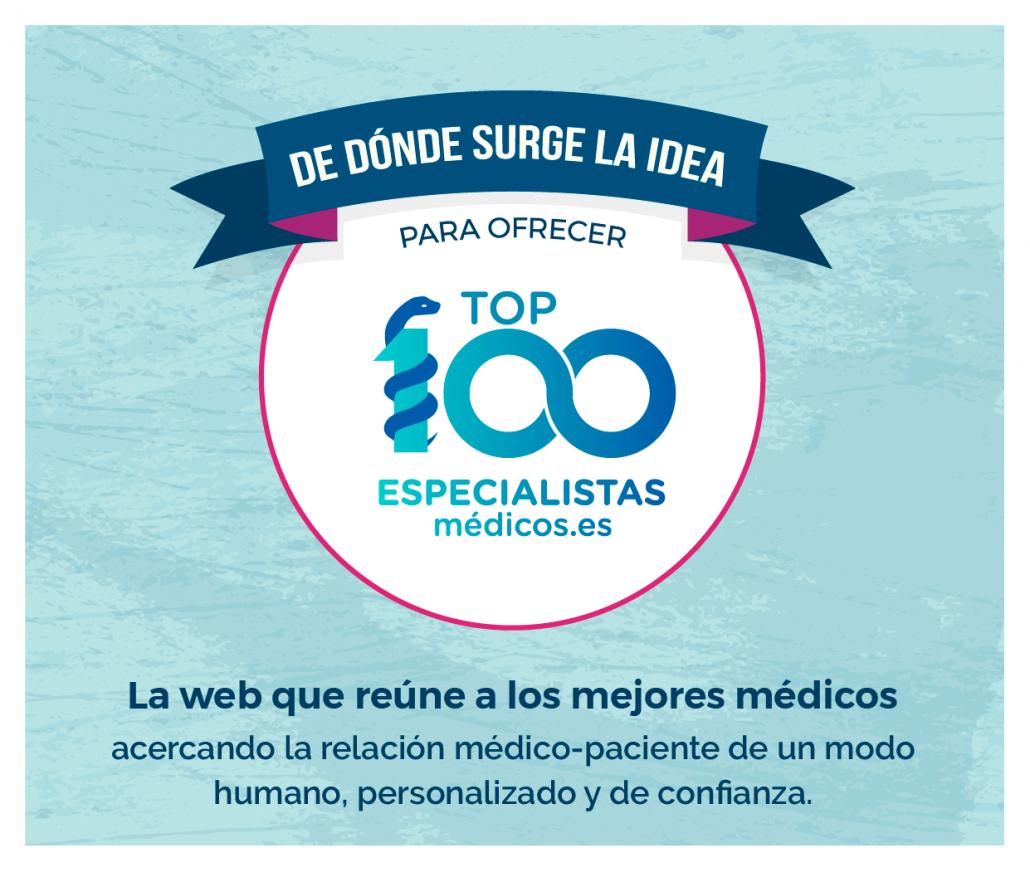 Top 100 especialistas médicos acerca y humaniza la relación médico paciente en un entorno de confianza