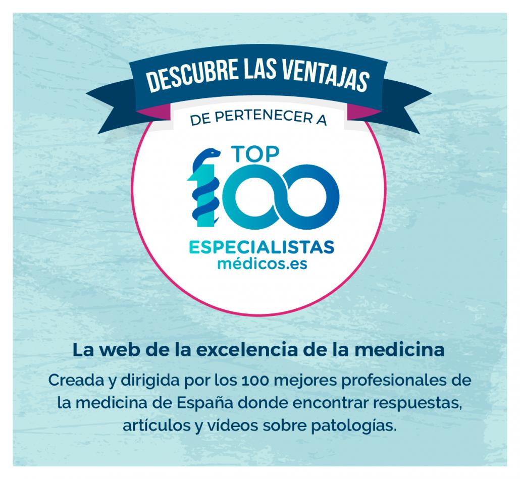 Top100 Especialistas médicos la web de la excelencia de la medicina creada y dirigida por los mejores médicos de españa
