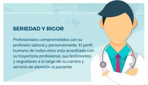 Top 100 especialistas médicos seriedad y rigor en la comunicación de la excelencia médica: traumatología, dermatología, neurocirugía, podología, estética