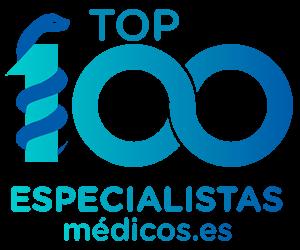 logotipo top100 especialistas médicos