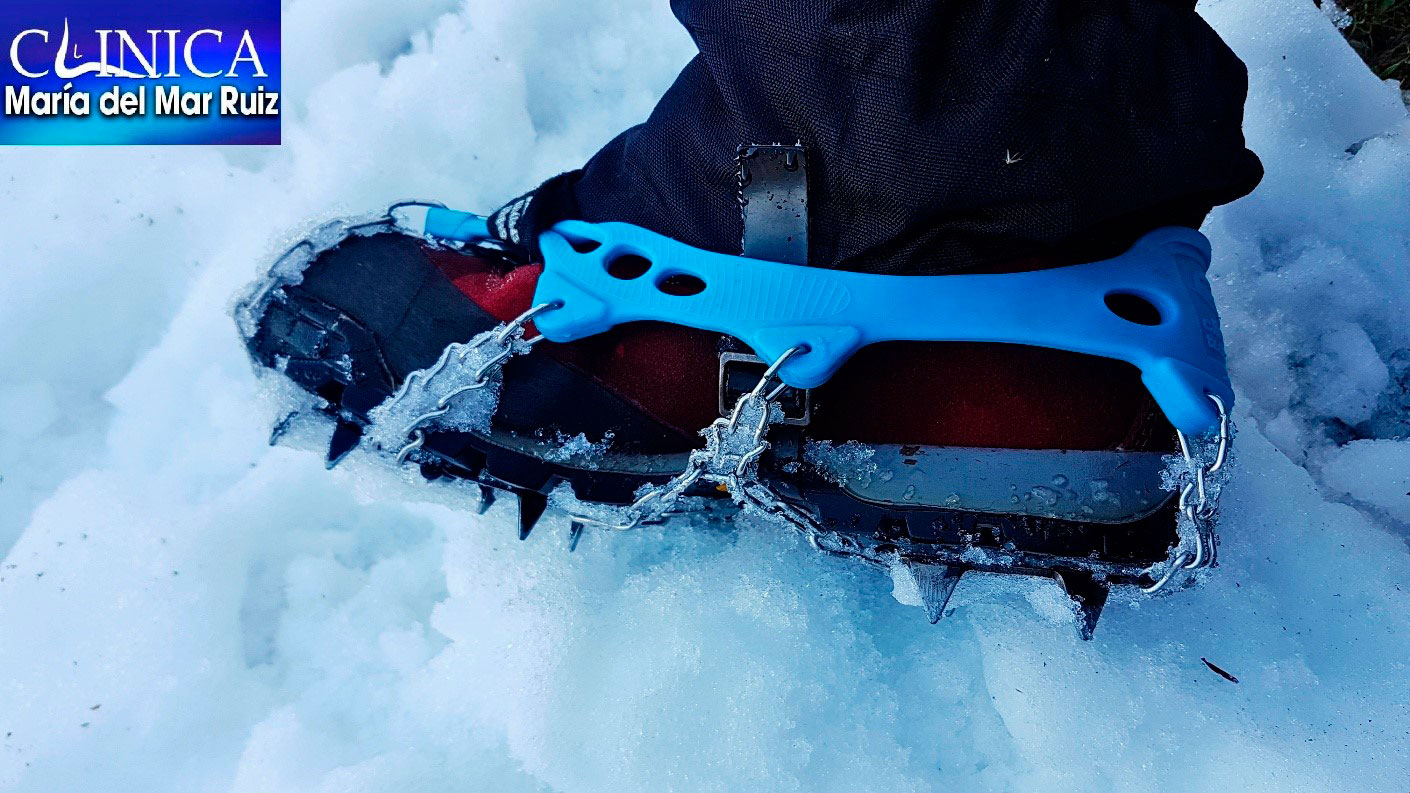 Senderismo y alta montaña en invierno: Cuidados podológicos